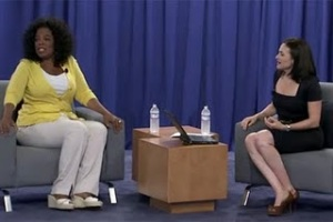 oprah winfrey gives live chat on facebook